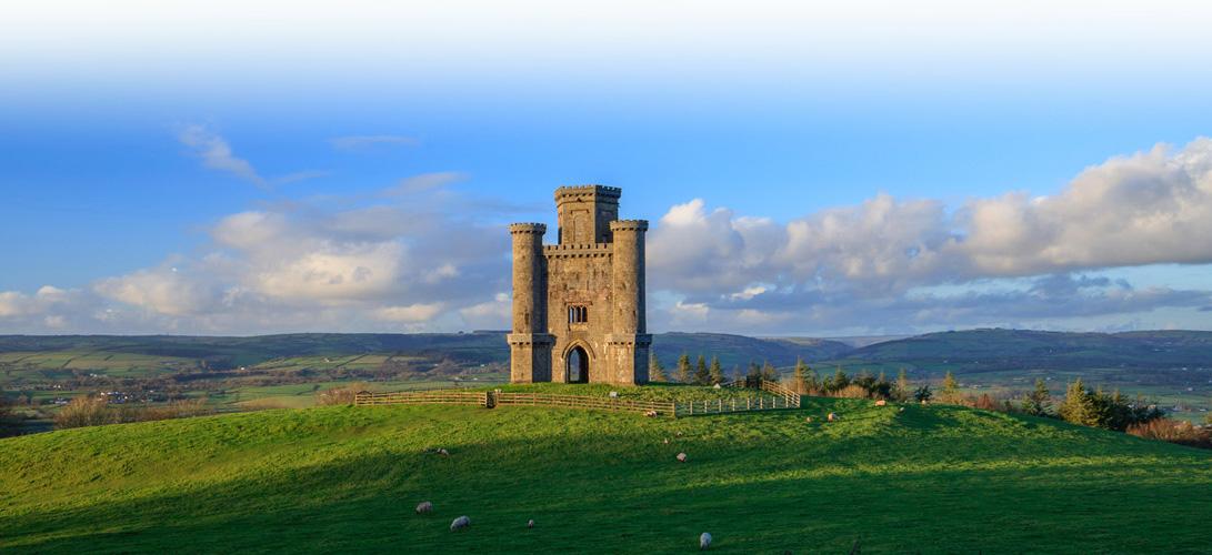 Paxtons Tower Llanarthne near Llandeilo Carmarthenshire Wales